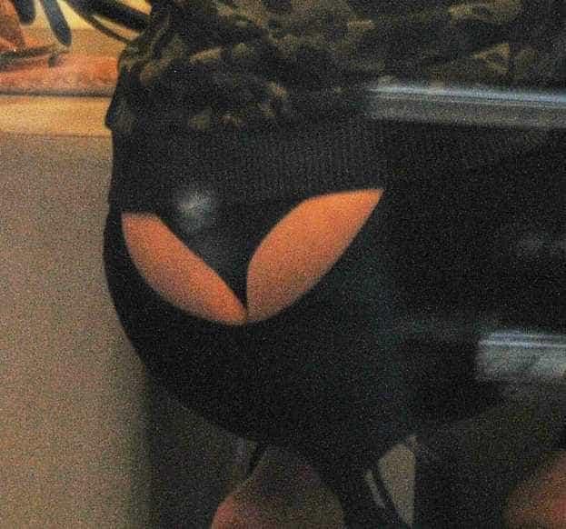 Mariah Carey se descuida e acaba mostrando a calcinha durante passeio