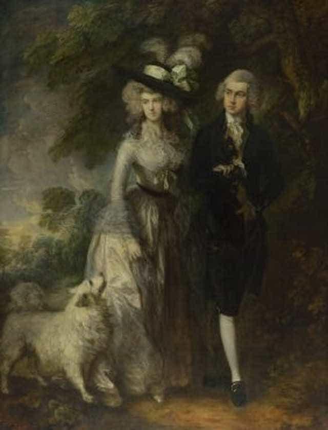 Homem é preso após arranhar quadro de Gainsborough na National Gallery