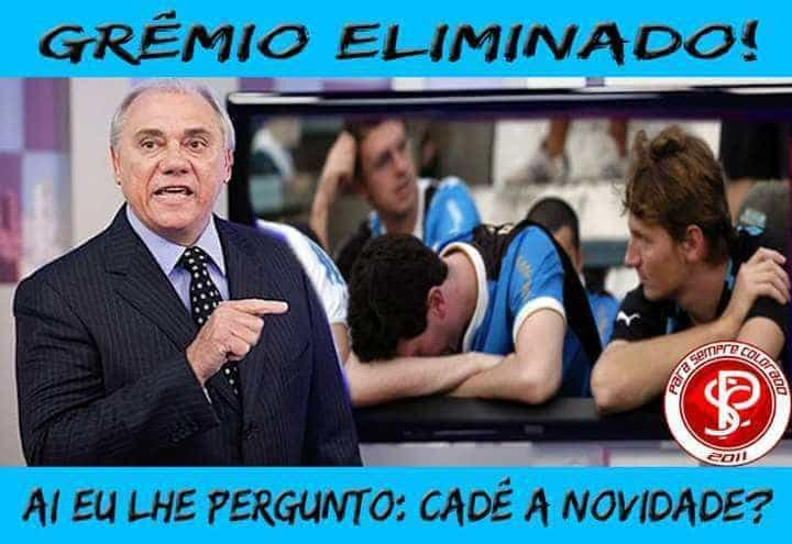 Grêmio, São Paulo e Vasco viram piada após eliminações; memes