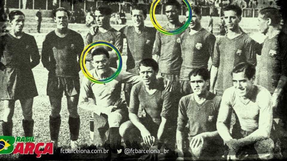 Saiba quem foram os primeiros brasileiros que jogaram pelo Barcelona