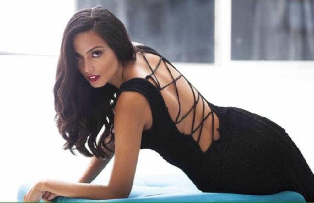 Dayanna Maia, filha de Latino -