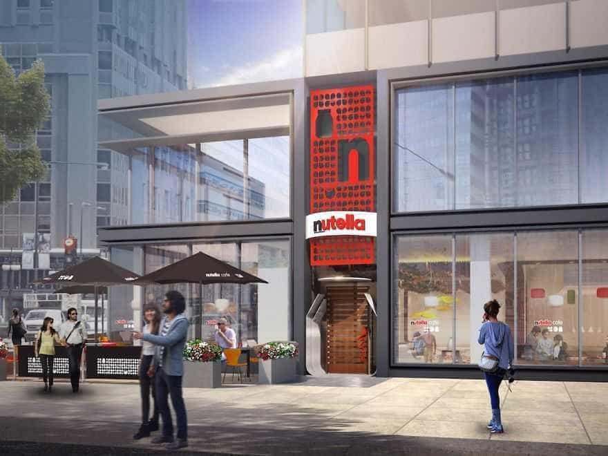 A Nutella vai abrir o seu primeiro café oficial