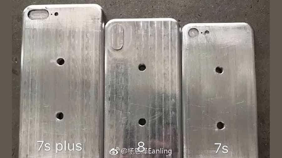 Veja os tamanhos dos três modelos do iPhone para 2017