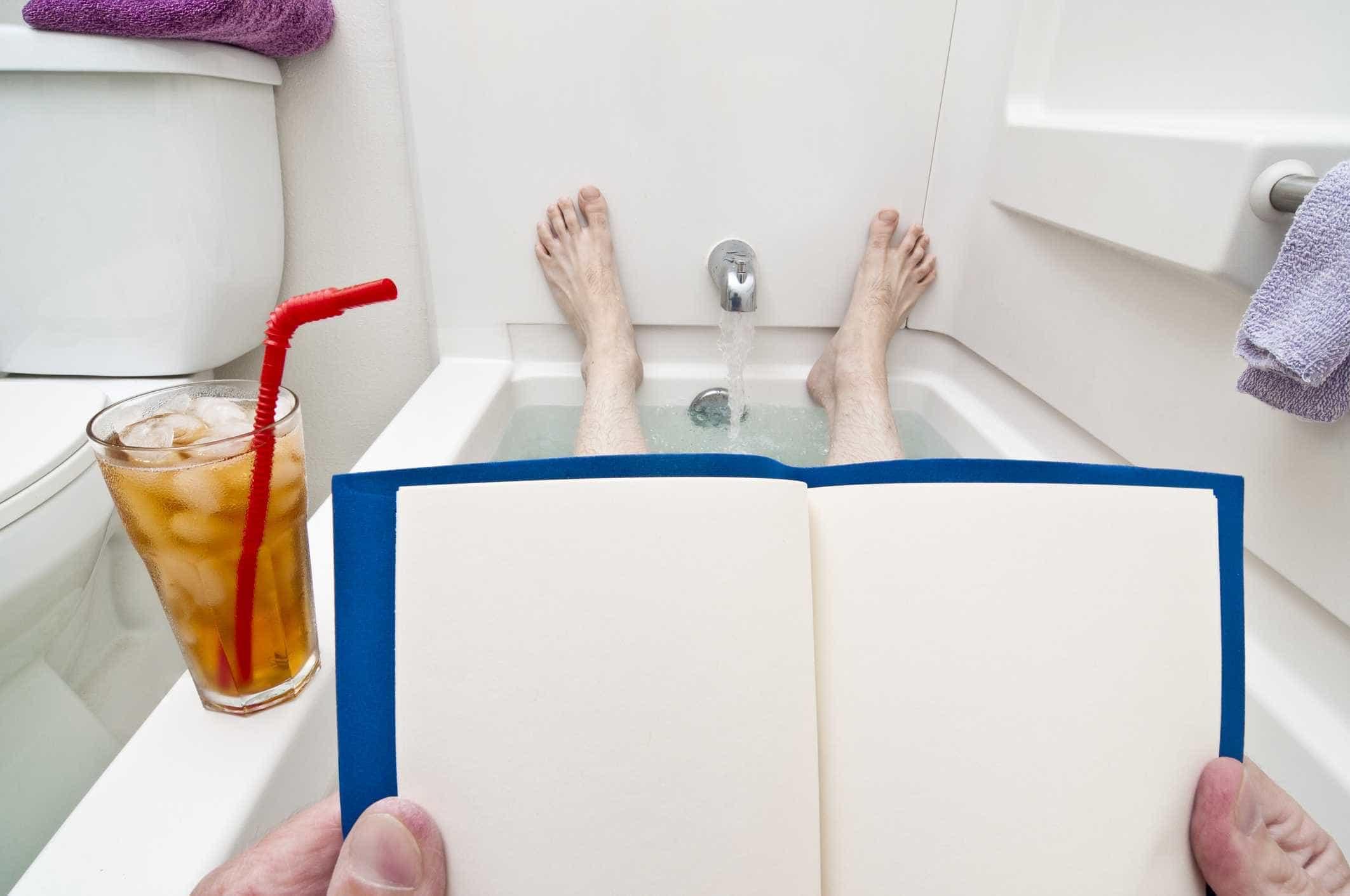 10 coisas que você pode fazer enquanto relaxa no banho